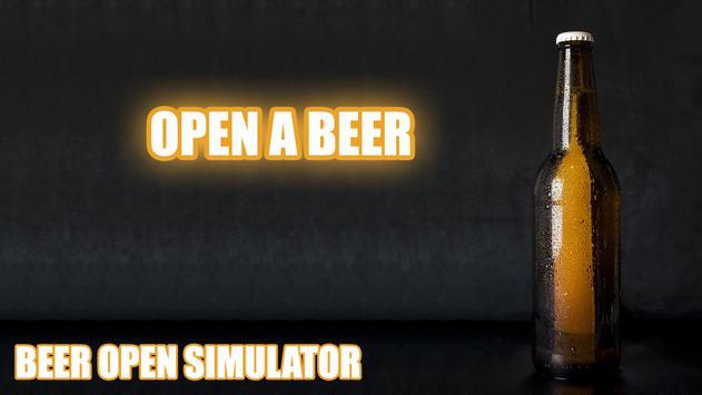 Beer open simulator poster