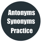Antonyms Synonyms Practice icon