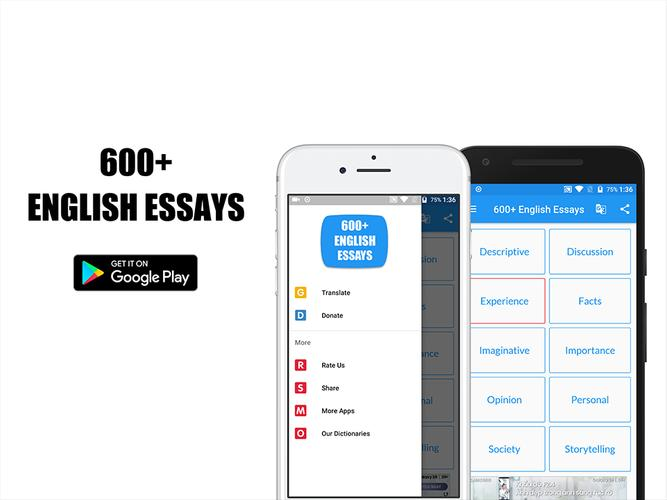 www english essays Effectively writing different types of essays has become critical to academic success essay writing is a common school assignment, a part of standardized tests, and a requirement on college applications.