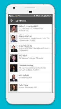 Latino Tax Professionals Association Events apk screenshot