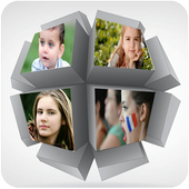 4D Collage Photo Frame icon