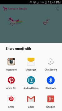 Unicorn Emoji Stickers apk screenshot