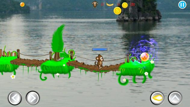 Monkey Dragon Ball Battle apk screenshot