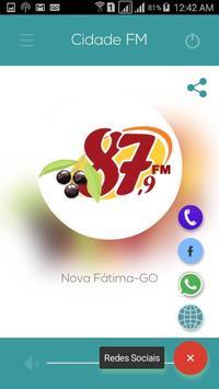 Cidade FM - Nova Fátima-GO poster