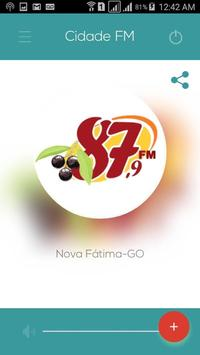 Cidade FM - Nova Fátima-GO screenshot 1