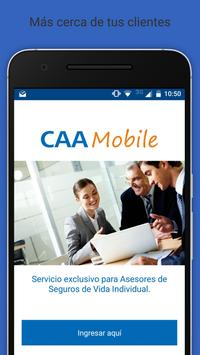 CAA Mobile poster