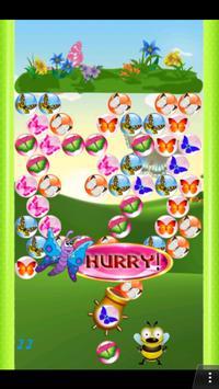 Bubble Shooter Butterfly apk screenshot