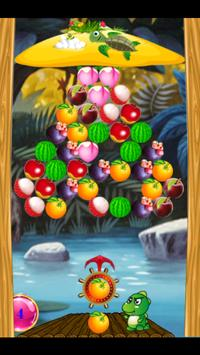 Bubble Shooter Fruits poster