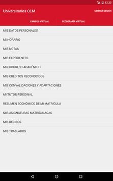 Universitarios CLM apk screenshot