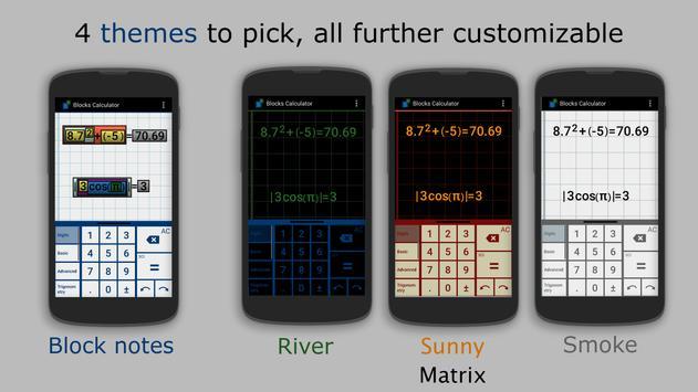 Blocks Calculator Free apk screenshot