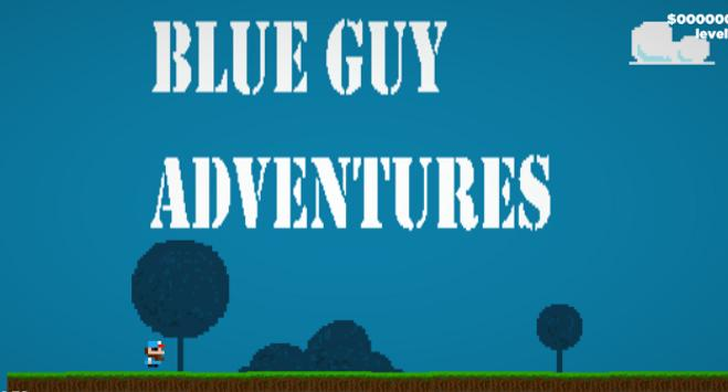 Blue Guy Adventure poster