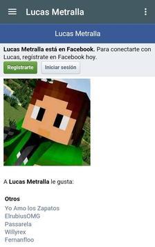 LucasMetrallaYT apk screenshot