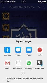 Asmaul Husna 99 Nama Allah apk screenshot