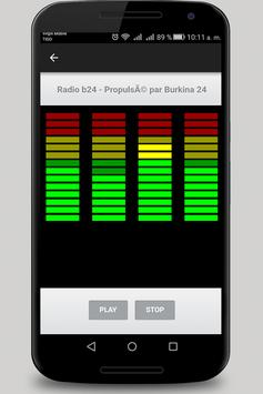 Burkina Radio screenshot 1