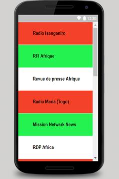Burundi Radio poster