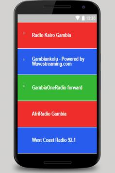 Radio Gambia free mp3 poster