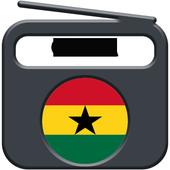 Tune in Radio fm  Ghana fm free mp3 icon