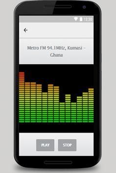 Tune in Radio fm  Ghana fm free mp3 screenshot 1