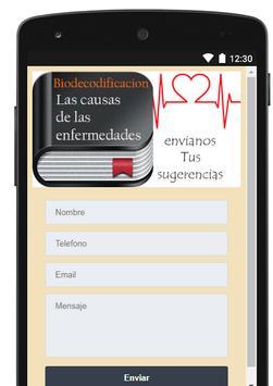Biodecodificacion - Causas de las enfermedades screenshot 11