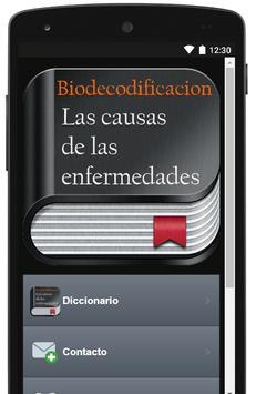 Biodecodificacion - Causas de las enfermedades screenshot 1
