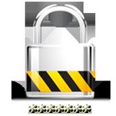Password management - passwords save keys icon