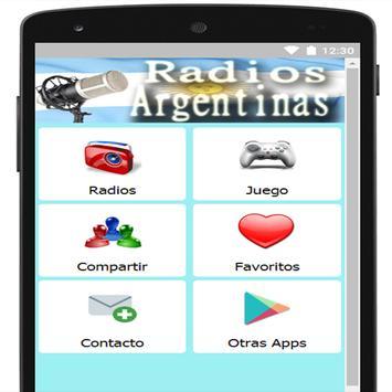Free Radios Argentinas on line AM and FM apk screenshot