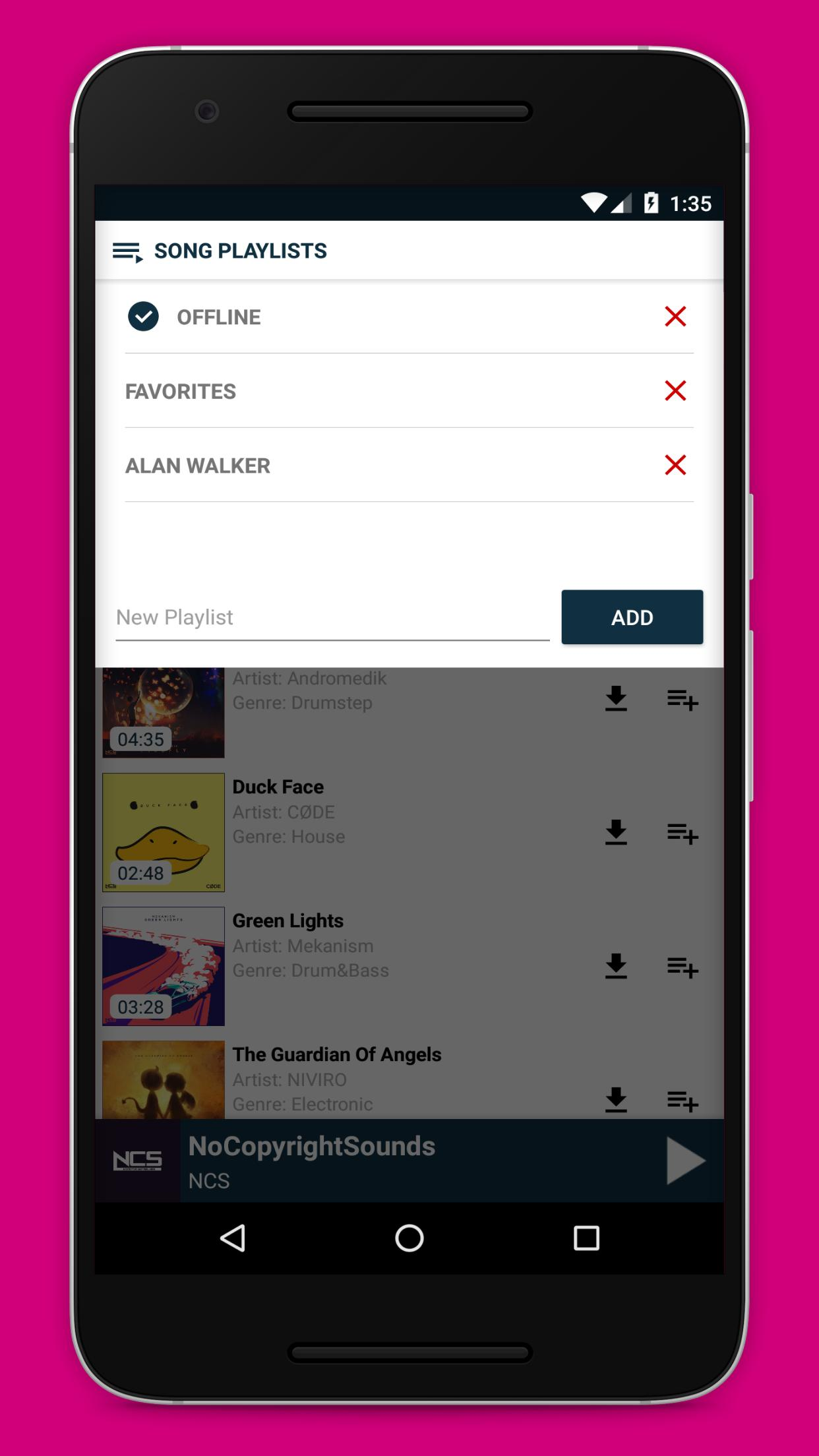 Music player for NCS (NoCopyrightSounds) for Android - APK Download