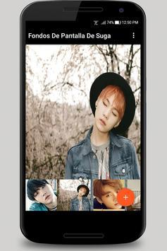 Photos  and Backgrounds of Suga BTS screenshot 2