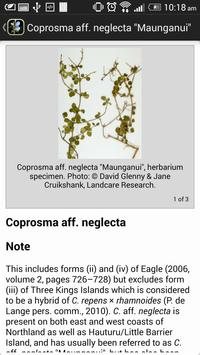 NZ Coprosma Key apk screenshot