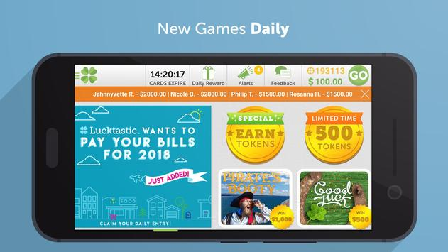 Lucktastic: Win Prizes, Gift Cards & Real Rewards apk screenshot