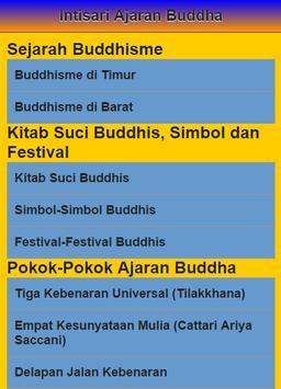 Intisari Ajaran Sang Buddha poster