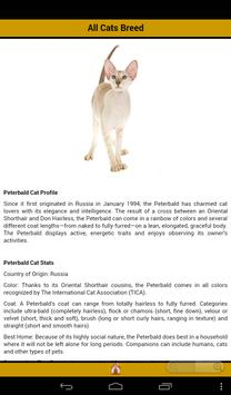Complete Cat Breeds apk screenshot