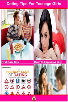Dating Tips For Teenage Girls poster