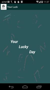 Your Luck poster