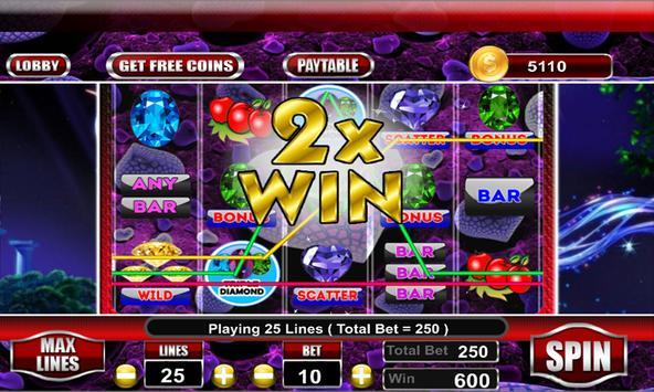 Triple Diamond Slot Machine screenshot 10