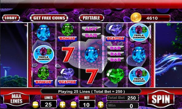 Triple Diamond Slot Machine screenshot 7