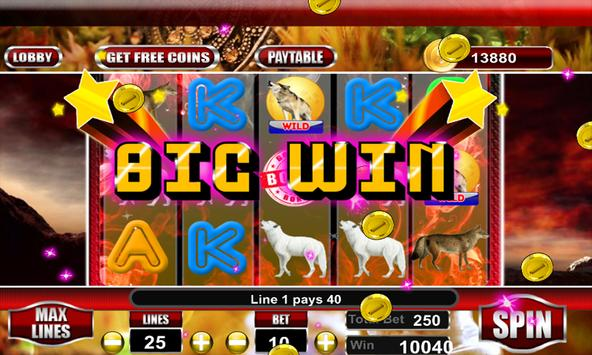 WIld Wolf Slot Casino screenshot 10
