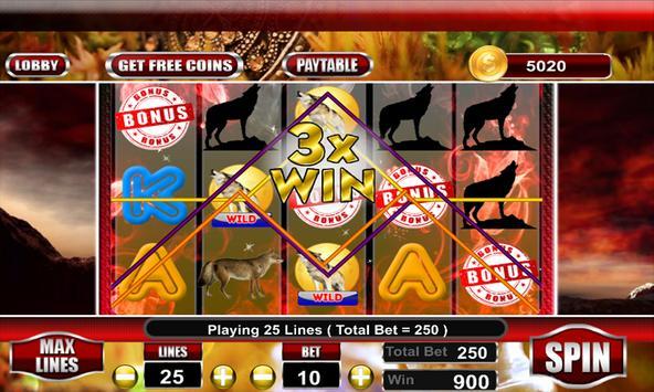 WIld Wolf Slot Casino screenshot 2