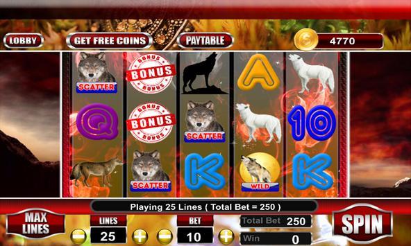 WIld Wolf Slot Casino screenshot 3