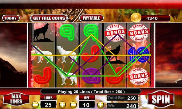 WIld Wolf Slot Casino screenshot 5