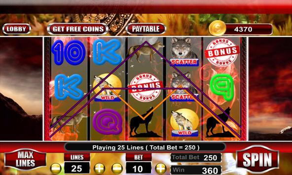 WIld Wolf Slot Casino screenshot 7