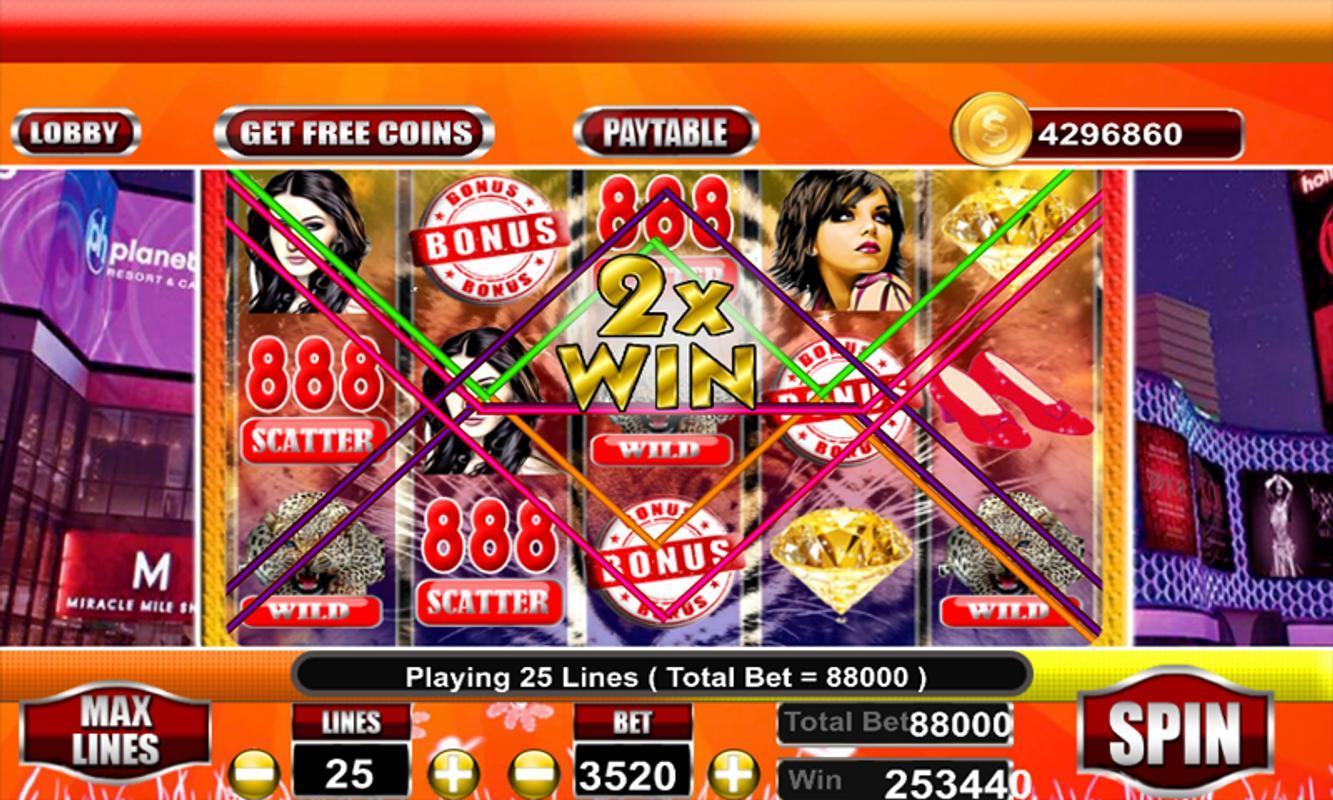 free casino slot 888