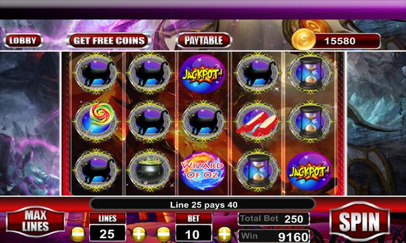 Free Wizard of Oz Slots Machine screenshot 3