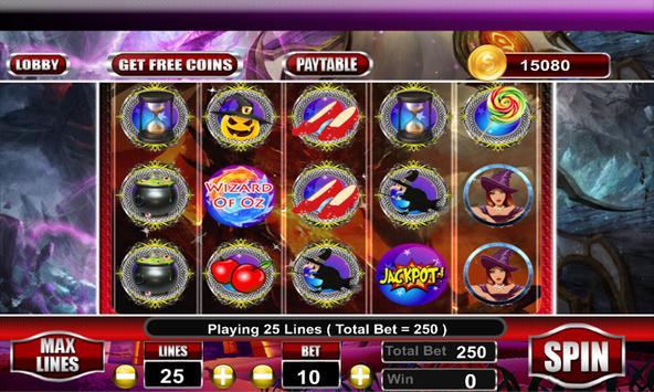 Free Wizard of Oz Slots Machine screenshot 4