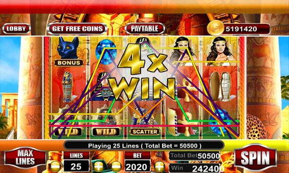 Lady of Egypt Slot Free poster