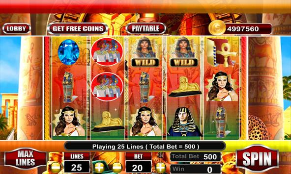 Lady of Egypt Slot Free screenshot 17
