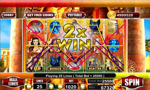 Lady of Egypt Slot Free screenshot 12