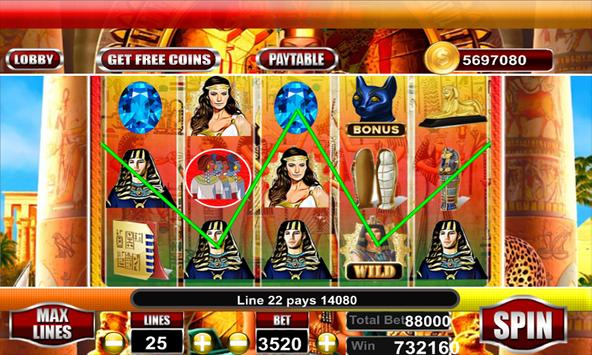 Lady of Egypt Slot Free screenshot 4