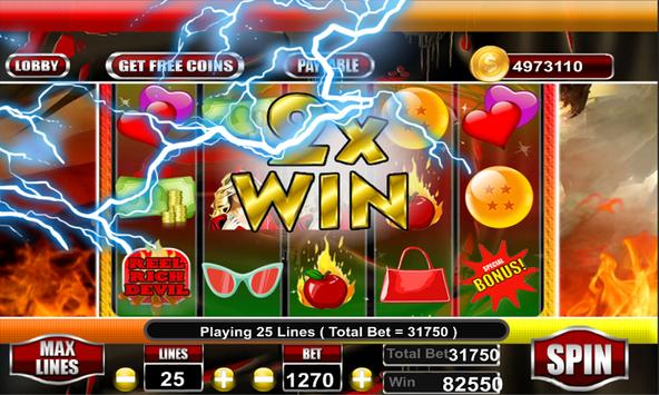 Reel Rich Devil Slot screenshot 2