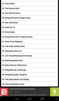 50 Trik Sulap Pilihan apk screenshot